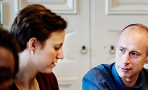 Karin Rydh och Jacob Lindborg, Project Managers PostNord Strålfors.