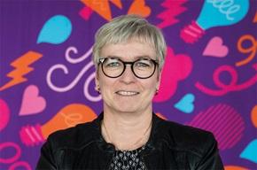 """""""Vi vill lära oss mer om våra kunder och bli ännu bättre"""", säger Eva-Lena Berglund, chef Fakturering på Skellefteå Kraft."""