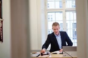 Niels Dahl-Nielsen är jurist på  advokatbyrån Synch i Köpenhamn. Byrån som är inriktad på innovation och teknik har haft en hektisk period inför införandet av dataskyddsförordningen GDPR.