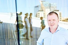 Kenneth Akselsen, vd för norska Social Managementbyrån SocialCee.