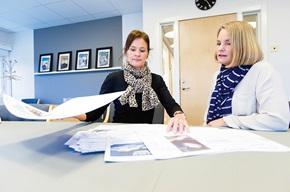 Liselotte Duvander ansvarar för företagets verktyg för fakturakommunikation och Ulla Höglind är marknadskommunikations- och CRM-chef.