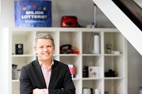 Jan Erlandsson, COO på Miljonlotteriet.